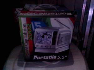 """Mini TV 5,5"""" vintage WITH AM/FM RADIO"""