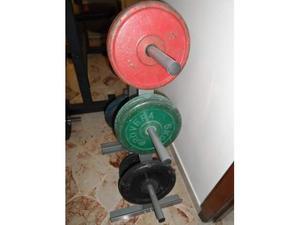 Pesi Dischi in Ghisa Palestra Body Building 5Kg, 10Kg, 15Kg