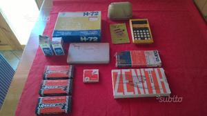 Puntatrici e calcolatrice Cancelleria vintage