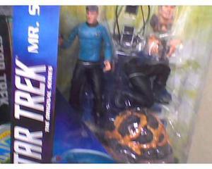 Star trek mr spock diamond select action figure sigillata