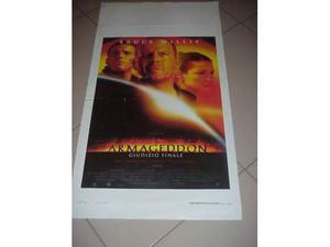 Armageddon locandina manifesto del film collezionisti cinema