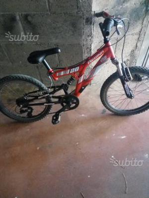 Bicicletta misura 20 bambino età 6/9 anni