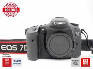 Canon 7d body - rce rovigo