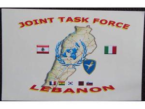 Cartolina Brig.Paracadutisti Folgore-Libano