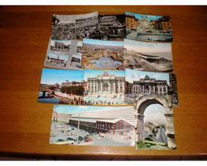 Cartoline di Roma e Torino - lotto 19 cartoline -