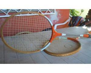 Coppia di racchette da tennis vintage Victory