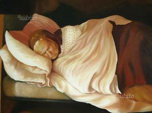Dipinto olio su tela 50x70
