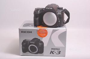 Fotocamera digitale reflex pentax k3. solo corpo