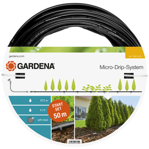 Gardena Sistema a Micro-Goccia per Filari L Starter Set 50 m