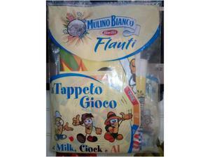 Il tappeto gioco di milk,ciock e al