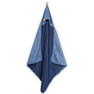 Jollein Accappatoio da bagno 75x75 cm Stonewashed Knit Blu