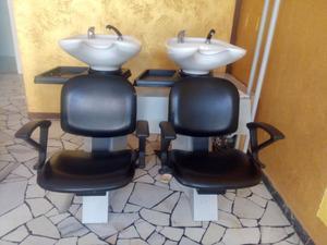 Lavatesta con poltrona parrucchieri posot class for Arredamento parrucchieri usato