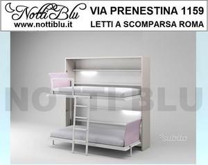 Letti a Scomparsa > Letto a castello Notti Blu