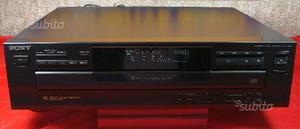 Lettore 5 cd sony CDP-C265