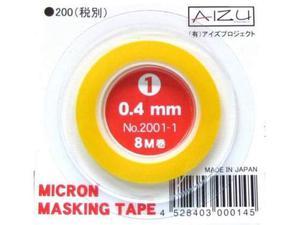 Micro Masking Tape per modellismo!