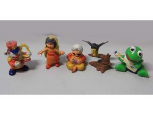 Pupazzi in gomma Sinbad e Muppet