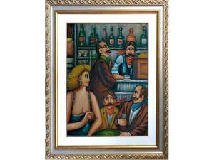 Salvo Lombardo olio su tela 40x50