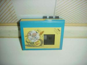 Walkman audio cassette mulino bianco piccolo mugnaio anni 80