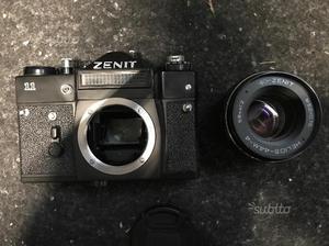 Zenit 11, ottica Helios, custodia
