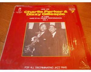 "Charlie Parker & Dizzy Gillespie ""Kings of Jazz""-LP33"