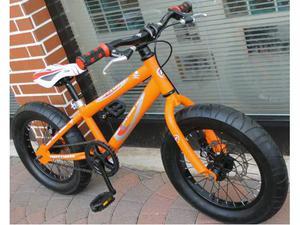 "Fat bike bimbo,ruote 16"",freni a disco meccanici"