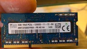 Memoria RAM 2gb SODIMM