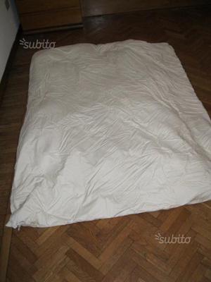 N. 2 piumoni da letto in piuma d'oca al 100%