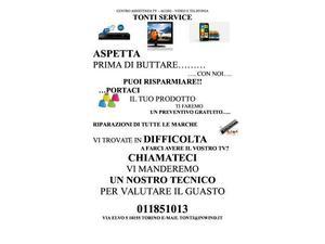 Riparazione Tv LCD, Led, Vcr, radio. Vendita telecomandi