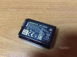 Batteria sony np-fw50. usata pochissimo