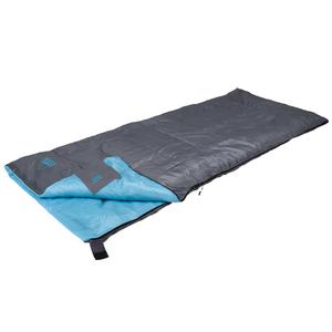 Camp Gear Sacco a Pelo Festival 190x75 cm Grigio e Blu