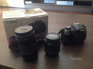 Canon Eos 600D + Obiettivi