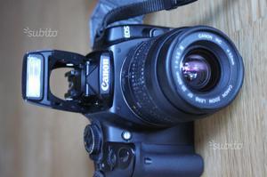 Canon eos 400d + obiettivo mm