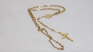 Catena rosario oro 18 kt gr. (pontevico)