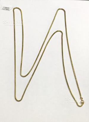Collana oro 18 kt grammi (cremona)
