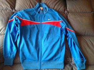 Felpa Nike blu rossa