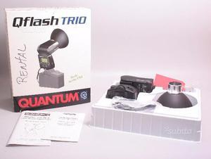 Flash quantum qflash trio. ex demo. garanzia