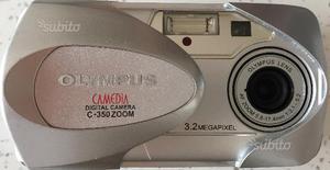 Fotocamera digitale Olympus C-350 + BORSA