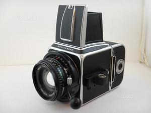 Hasselblad 500 CM Planar 80mm f2.8 T* + Magazzino