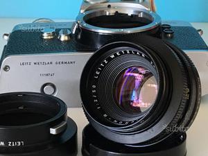 Leica R Summicron 50/2 con leicaflex in omaggio