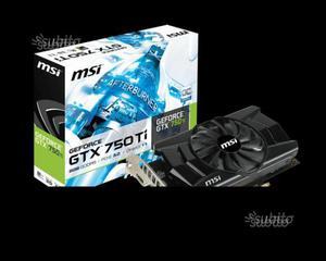 SCHEDA MSI GTX 750 Ti 2 GB