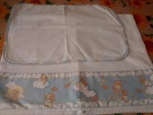 Set lenzuola da lettino (con sbarre)