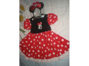 Vestito Minnie Disneyland paris pari nuovo, 3 anni