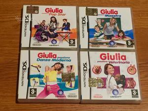 4 Giochi NINTENDO DS Giulia passione