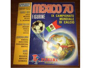 Album Figurine Calciatori panini MEXICO 70!