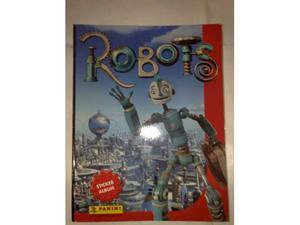 Album Figurine Panini Robots