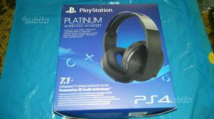 Cuffie PlayStation 4 Platinum Nuove