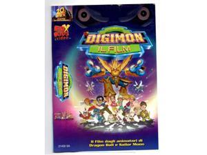 Digimon film VHS