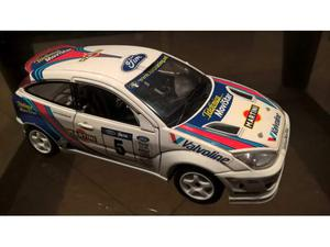 FORD FOCUS rally modellini auto scala 1:18