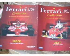 Ferrari collection - racing - le grandi ferrari MODELLINI