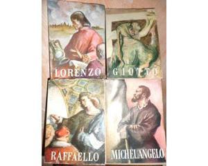 I grandi italiani UTET Lorenzo, Giotto, Michelangelo,
